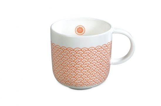 Mug Orange, Mr & Mrs Clynk Matea