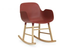 Rocking armchair Form, Simon Legald Matea