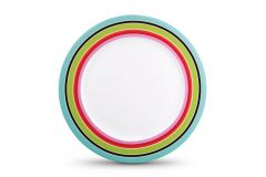 Stripy plate, Mr & Mrs Clynk Matea