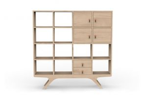 Nerone bookshelf, Studio Sagitair Matea