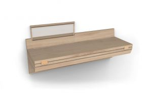 Anubi wall desk, Studio Sagitair Matea