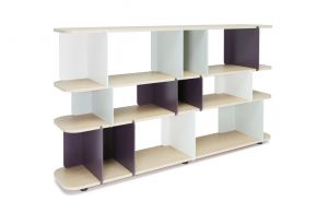 Stackit shelves, Laurent Minguet Matea