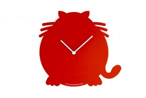 Red Cat clock, Antonio Mastrorilli Matea