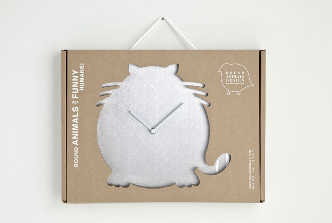 Horloge Chat, Antonio Mastrorilli__(