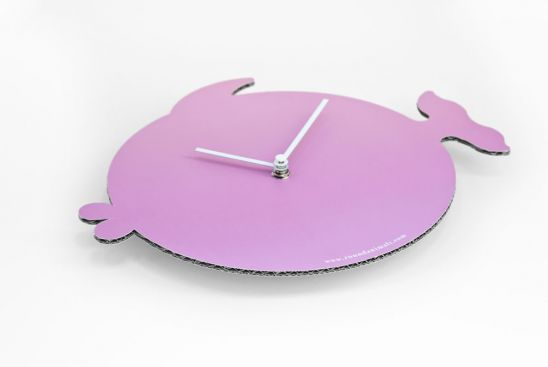 Horloge Poisson rose, Antonio Mastrorilli__(