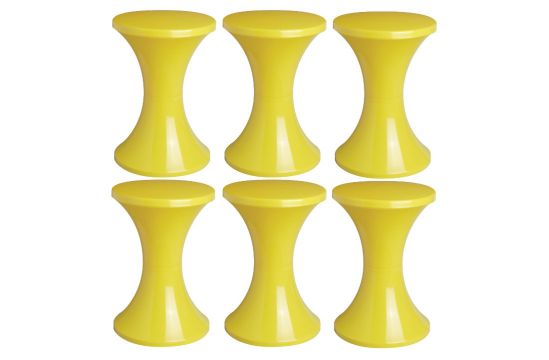 Lot de 6 tabourets Tam Tam Pop, Henry Massonnet Matea
