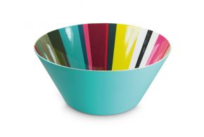 Stripy salad bowl,  Matea