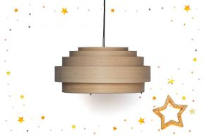 Suspension Thin wood,  Matea