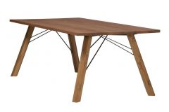 Straight table wood, Guillaume & Timothée Matea