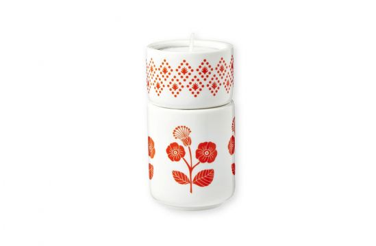 Bougeoirs Fleurs rouges, Mr & Mrs Clynk Matea