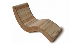 Chaise longue Boomerang, Thierry Marc Matea