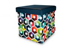 Pouf de rangement Remember, Laurent Minguet Matea