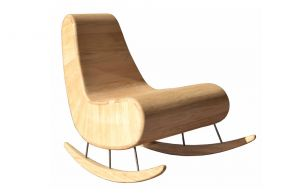Rocking chair Goerdini, Thierry Marc Matea